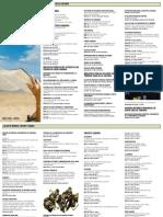 Gobierno de Canarias - Agenda Cultural de Abril