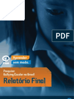 Bullying Escolar PLAN BRASIL Relatorio Final