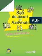 Ghidul Animatorului - 855 de Jocuri Si Activitati