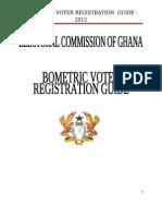 Ghana Elections - Biometric Voter Registration Guide - 2012