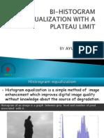Bi-histogram Equalization With a Plateau Limit-1