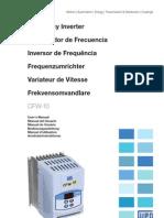 WEG Cfw 10 Manual Do Usuario 0899.5860 2.Xx Manual Portugues Br