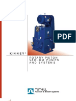 Kinney Piston Vacuum Pump Brochure