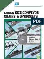 Tsubaki Large Size Conveyor Chain Catalog