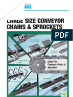 Tsubaki Large Size Conveyor Chain Catalog