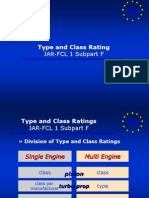 08 JAR-FCL Subpart F - Type and Class Ratings