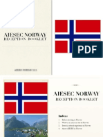 AIESEC Norway - Reception Booklet