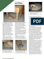 Potters Wheel Plans
