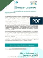 Audiovisual y Cs Sociales - 2da Circular