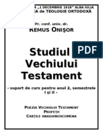 Remus Onisor - Poezia Si Profetii VT