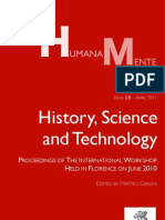Humana_Mente 16 History, Science and Technology