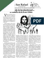 Boletín Parroquial del 21 de Abril