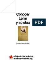 Conocer Lenin y su obra