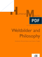 Humana_Mente 18 Weltbilder and Philosophy