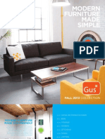 Gus* Modern | Fall 2013 Collection | Modern Furniture Made Simple