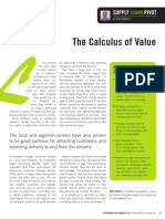 The Calculus of Value
