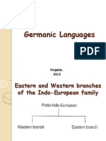 4. Germanic Languages