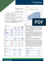 Derivatives Report, 22 April 2013