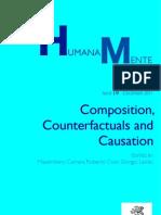 Humana Mente 19 Composition Counterfactuals Causation