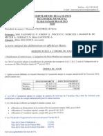 Compte Rendu 08.04.2013