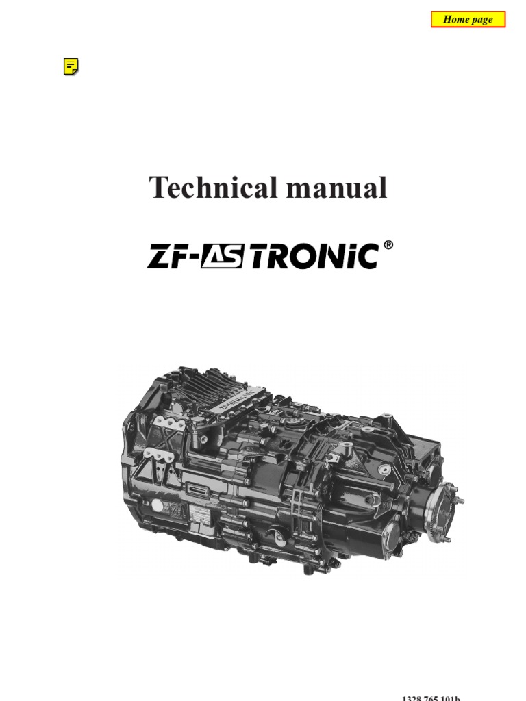 zf as tronic technicians handbook automatic transmission rh es scribd com zf as tronic transmission gearbox workshop repair manual zf as tronic service manual pdf