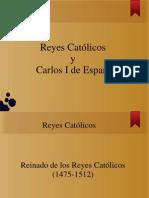 Reyes Católicos y Carlos V