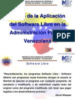 Aplicacion en Venezuela Soft Libre