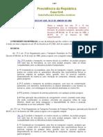 Dec 4.097 de 23.01.2002 - Altera alguns artigos do Transp Rodoviário de Produtos Perigosos