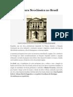 Arquitetura neoclassica