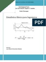 Estadisticas Básica para Ingenieros UNI Estelí