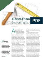 Christopher Beaver the Autism File. Autism Friendly Environments 20101