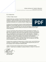 letter of recommend johnfunk