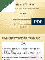 Generacion y Tratamiento Del Dar