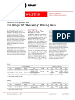 Terminal Unit Sys_Danger of Oversizing Heating Coils