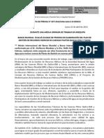 BOLETÍN DE PRENSA N° 037-2013