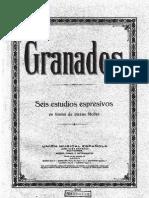 6 Estudios expresivos en forma de piezas fáciles (Granados, Enrique).pdf