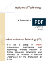 About IITs About IITs
