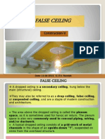 False Ceiling 6th Sem