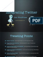 How to Integrate Twitter Into WordPress