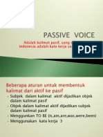 Passive Sentences