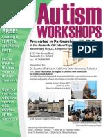 Austism Workshop - 5/22