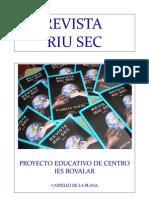 Proyecto Revista Riu Sec