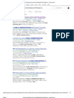 Google Search Strategy for Finding Phd Dissertations on Public-Administration