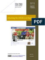 Attacking the ANZACs on Facebook