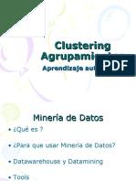 Clustering Agrupamientos