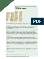 CODÍGO DE PLATÃO É DECIFRADO