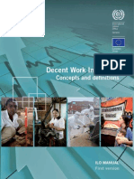 Decent Work Indicators - Concepts and definitions