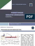 Perhitungan Kekuatan Memanjang Kapal-2