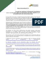 Nota Informativa N° 6 Bolivia ratifica 3er Protocolo Facultativo 17abril2013 ok