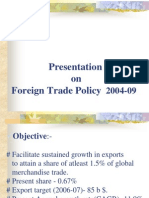 8831Foreign Trade Policy F - 2004-09